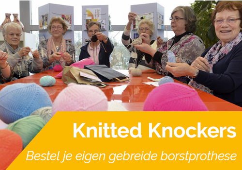 banner knitted knockers